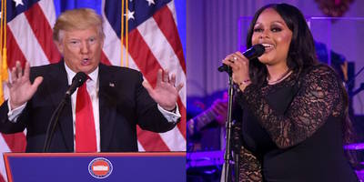 "chrisette michele on playing trump inauguration: ""my heart is broken for our country"""