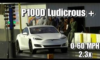 Watch Tesla's new Ludicrous Plus mode crush Faraday's claimed 0-60 time (by 0.001s)