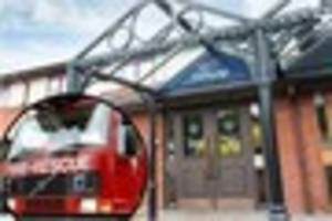 Fire crews called following laundry room incident in Exeter hotel