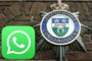 Live: Police officers accused of sending 'offensive WhatsApp...