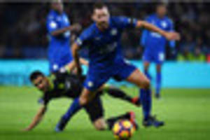leicester city midfielder danny drinkwater admits drop in form...