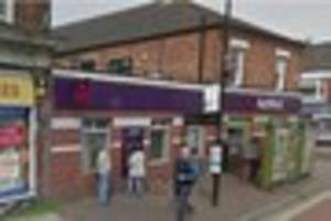 Cash stolen after bank staff threatened by teenager