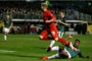 Liverpool penalty decision was 'a bit soft' says Plymouth...