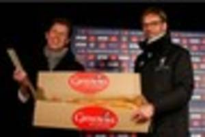what's that? liverpool boss jurgen klopp's response to pasty...