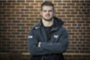 olly cracknell thanks ospreys coaches and players for helping to...