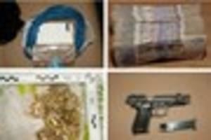 Billericay drug dealers: first photos emerge of drugs, guns and...