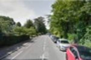 Purley residents report hearing loud bang after car crashes into...