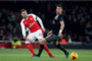 'It is down to Arsenal full-back over Crystal Palace move,'...