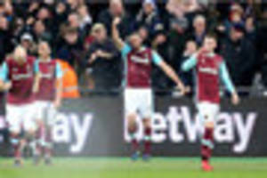 west ham striker suffered whiplash scoring wonder goal against...