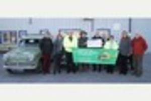 Vintage vehicle run helps drive up air ambulance funds