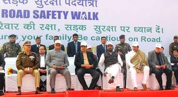 siam promotes safety by organising various activities during road safety week
