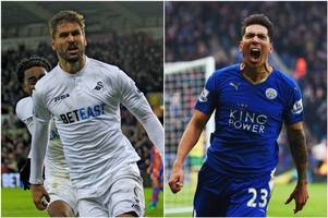swansea stay tight-lipped on links to leicester striker leonardo ulloa - and tell birmingham and west brom stars are not for sale