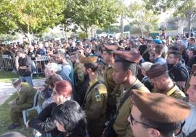 hundreds attend funeral of idf soldier who died in golan accident