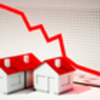 median house price drops