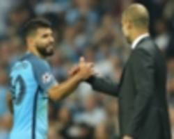 Guardiola: Aguero asked for restaurant talks