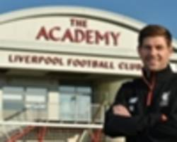 gerrard secures coaching role at liverpool's academy