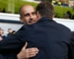 'i love seeing tottenham play' - guardiola impressed by pochettino's work