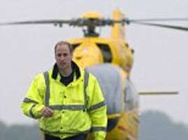 prince william quits his air ambulance job