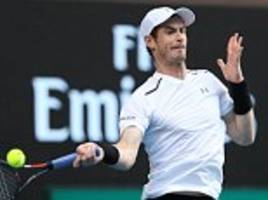 andy murray shows why he is the australian open favourite