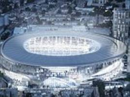 Tottenham unveil flash new stadium with all glass tunnel