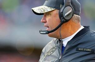 buffalo bills: rex ryan's pickup truck gets college makeover