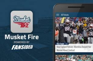 musket fire launches new england patriots app for ios and android