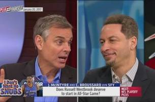 colin defends the fans' nba all-star voting | speak for yourself