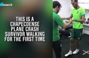 chapecoense tragedy survivor is on his way back to recovery