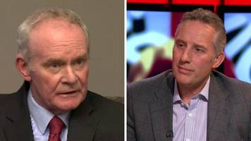 Ian Paisley's warmth to Martin McGuinness was no one-off