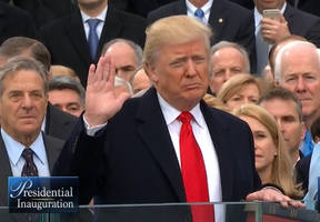 it's official: donald trump becomes the 45th president of the united states of america