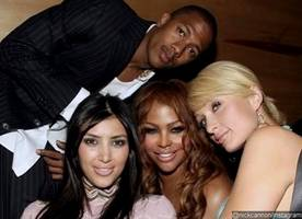 Nick Cannon Reminds Everyone He Used to Date Kim Kardashian in This TBT Photo