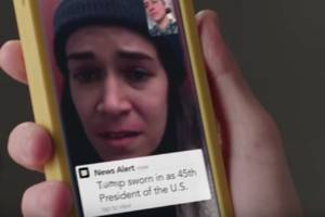 abbi and ilana freak out about trump in new broad city promo