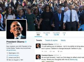 President Obama Sends Out Last Tweets In Office
