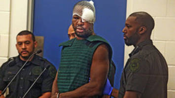 'your name is, ma'am?'; suspected cop killer interrupts judge while facing new charges