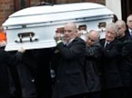 travellers at funeral of 'queen of gipsies' ellen mcdonagh