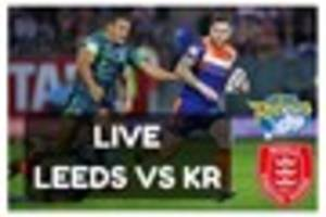 live leeds rhinos vs hull kr - team news and match action from...