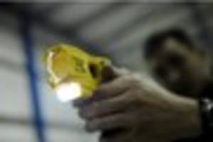 what are the rules for police tasers? when are they supposed to...