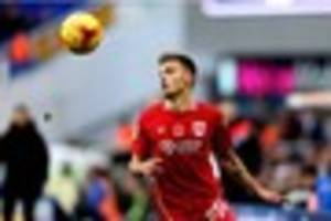 bristol city's jamie paterson will not hesitate to celebrate if...