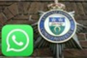 Live: Eight officers accused of sharing 'offensive WhatsApp...