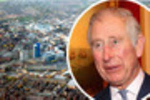 prince charles set for leicester college and mountsorrel railway...