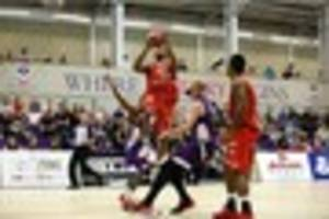leicester riders face a threat to their unbeaten run from...