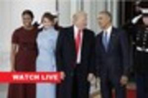 Watch live: Donald Trump is sworn in as US president at...