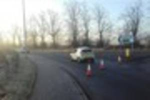 man dies following two-car collision near lichfield this morning
