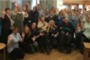Dorothy House Hospice care celebrate 'Outstanding' Care Quality...