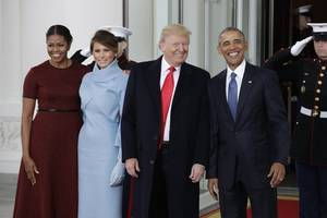 Barack Obama departs with fragile legacy at risk from Trump