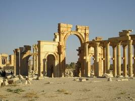 Report: Islamic State Militants Destroy Part of Roman Amphitheater in Palmyra, Syria
