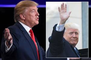 How to watch Donald Trump's Inauguration in the UK - Full timetable of events and speeches