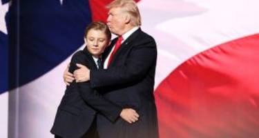 Here are 10 Photos of Barron Trump You Can't Miss