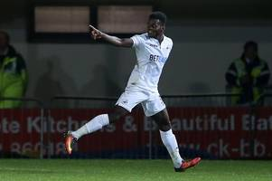 swansea city u23s 2-1 newcastle united u23s: young swans complete stunning comeback to maintain winning run