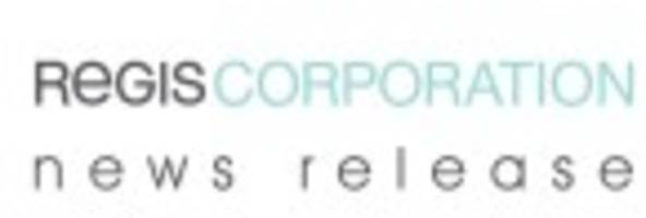 Regis to Issue Second Quarter Results on February 3, 2017